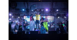 Pride team killing it in Antofagasta on their new SDC rides!