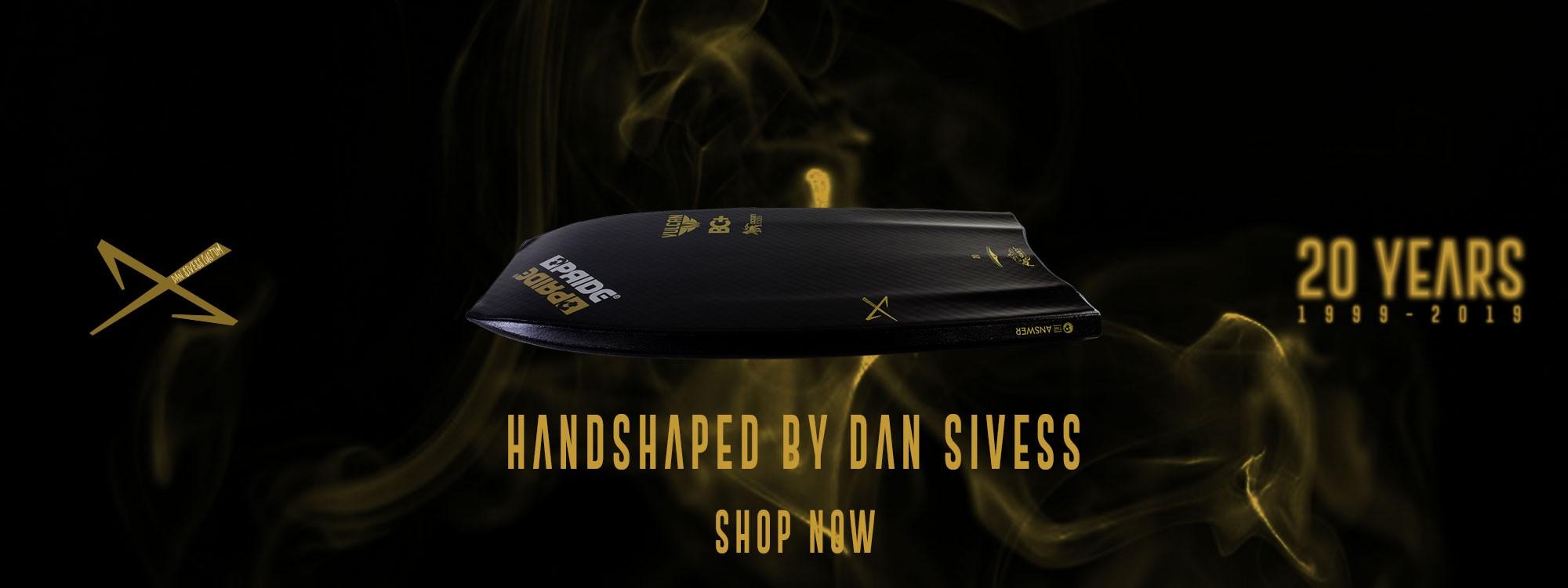 Pride 20th Anniversary - Hand Shaped custom boards by Dan Sivess